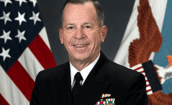 Navy Adm. Mike Mullen, chairman of the Joint Chiefs of Staff.